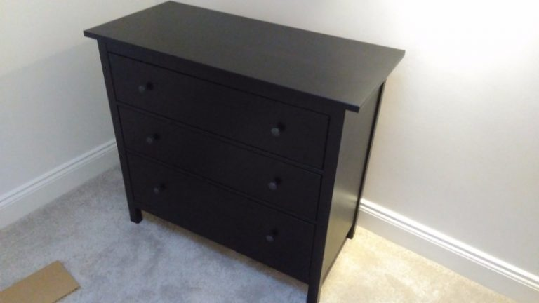 another ikea hemnes chest assembly in Nottinghamshire