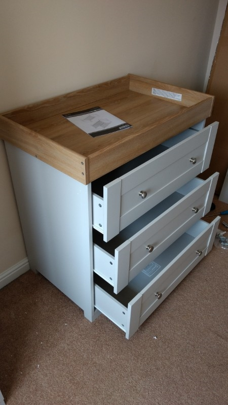 Ikea hemnes chest assembled in NG10 1 Derbyshire
